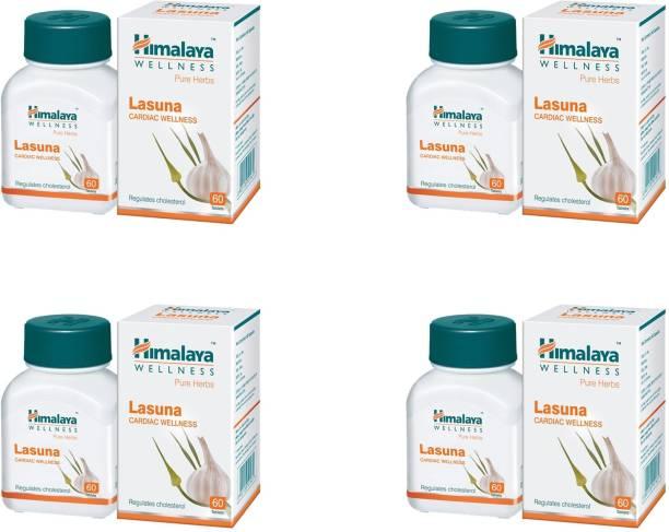 HIMALAYA Lasuna Cardiac wellness regulates cholesterol (240 Tablets)
