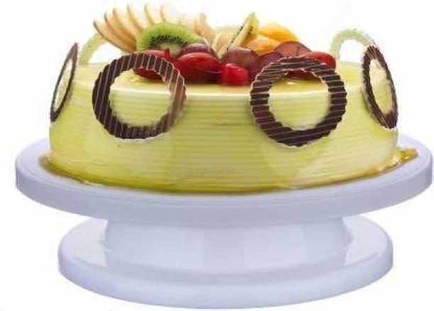 manshree creation Cake Decorating Revolving Icing Turntable Stand Rotating Platform Full Cake Maker Cake Maker