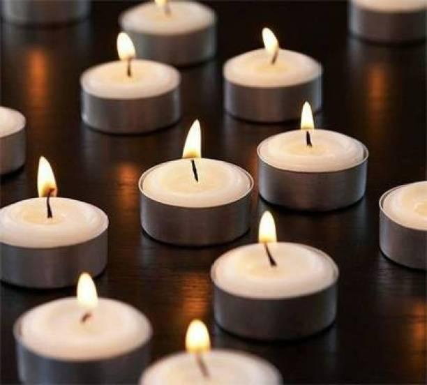ARNAV ENTERPRISE DIwaliDiya Unscented Tealight Candles, Daily Use, MultiPurpose, Birthday, Festive,HomeDecor Candle-AA Candle Candle
