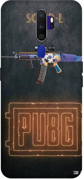 Snapcrowd Back Cover for Oppo A5 2020 Pubg Scra-l Gun back cover