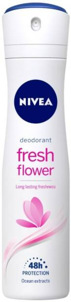 NIVEA Fresh Flower Deodorant for Women Deodorant Spray  -  For Women