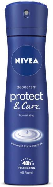 NIVEA Protect & Care Deodorant Spray  -  For Women