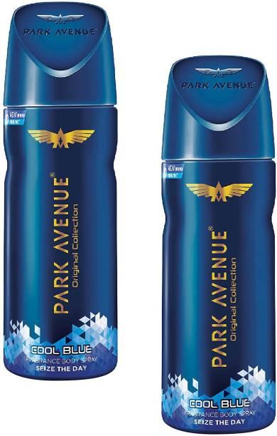 PARK AVENUE Cool Blue Body Spray 150ml - 2Pcs Ql12 Body Spray  -  For Men