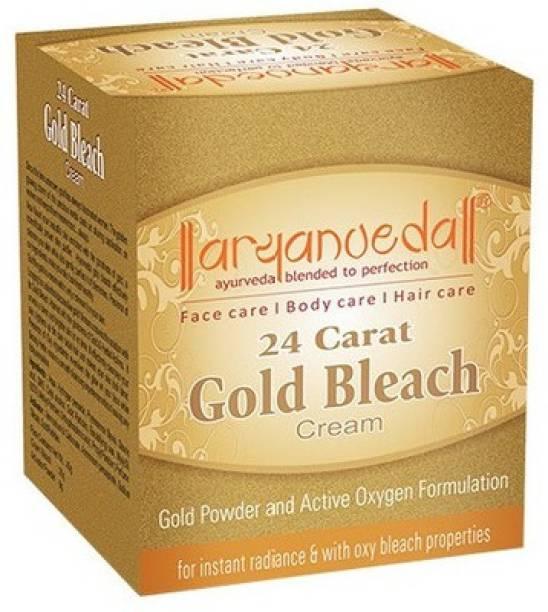Aryanveda Herbals Gold Bleach Cream
