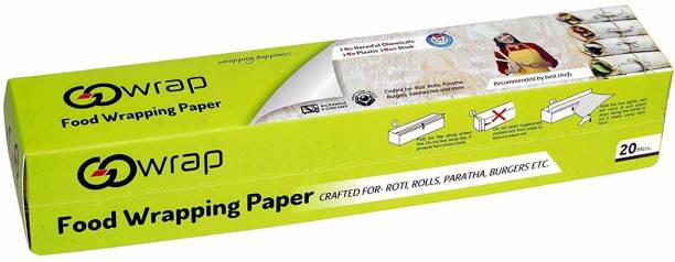 OneStep Food Wrapping Parchment Paper Crafted for- Roti, Rolls, Paratha, Burgers etc (20 Mtrs.) 1pcs Parchment Paper