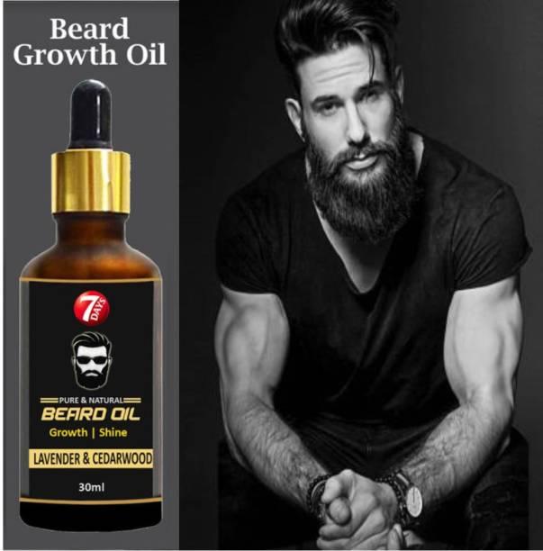 7 Days 100% Pure Beard Growth Oil Hair Oil