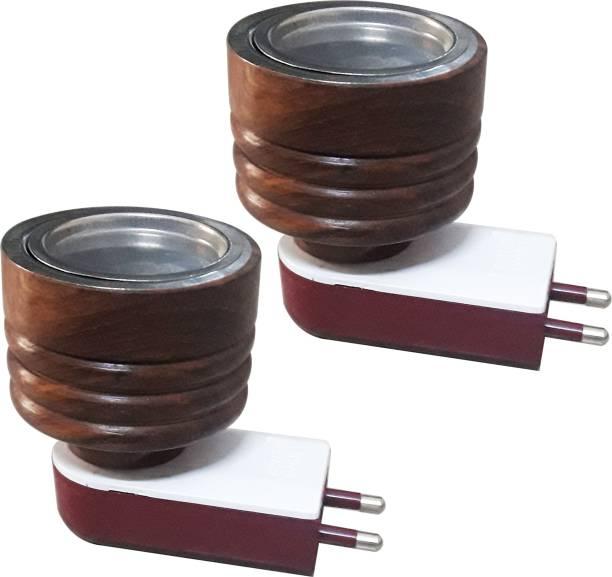 Prathna AROMA BURNER Wooden, Steel Incense Holder