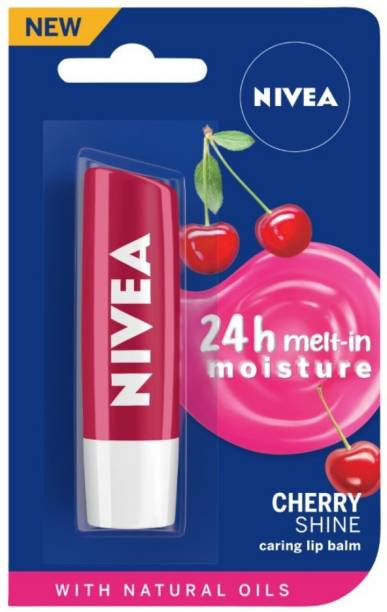 NIVEA Shine Caring Lip Balm Cherry