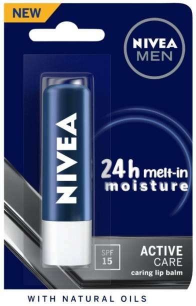 NIVEA Men Care Lip Balm Active Care