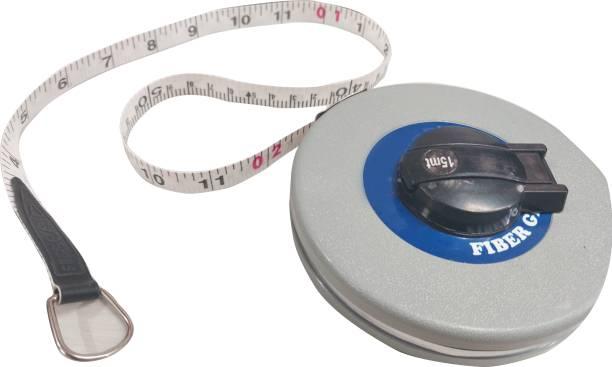 intenzo Soft Fiber Measuring tape 15m Grey Best Quality Measurement Tape