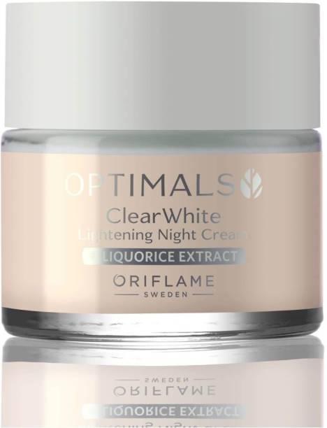 Oriflame optimals clear white lightening night cream Cream 50 ml