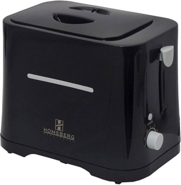 Homeberg HT699B 750 W Pop Up Toaster