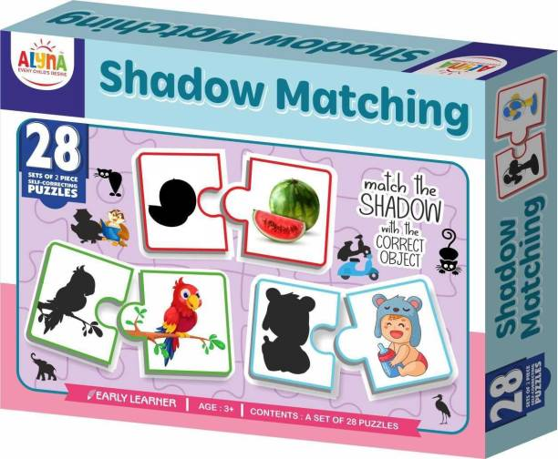 Ankit SHADOW MATCHING PUZZLE|Puzzle Games /Toys For Kids Learning /Education For 3+