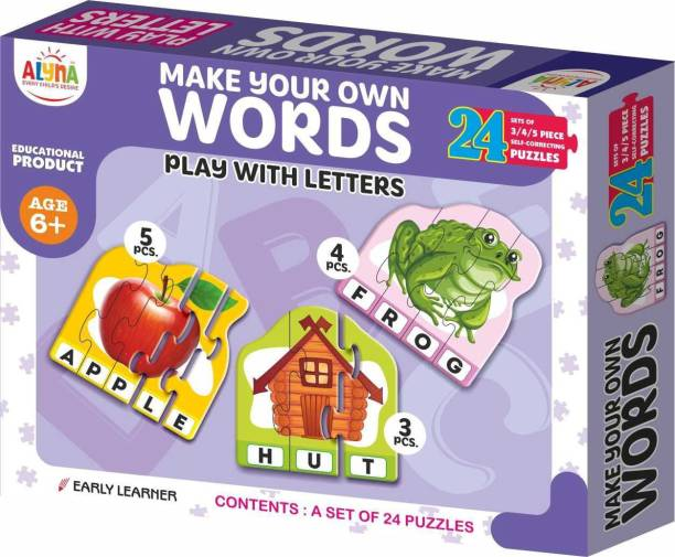 Ankit WORDS PUZZLE|Puzzle Games /Toys For Kids Learning /Education For 6+