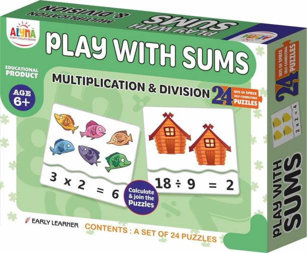 Ankit PLAY WITH SUMS PUZZLE|Puzzle Games /Toys For Kids Learning /Education For 6+