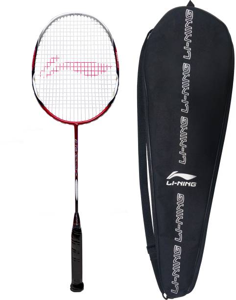 Li Ning G TEK 88 MUSCLE II Multicolor Strung Badminton Racquet