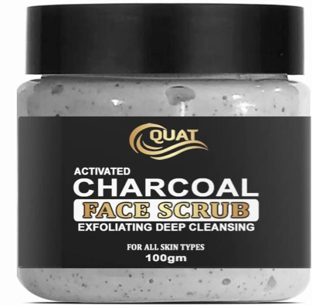QUAT SCRUB_CHARCOAL Scrub