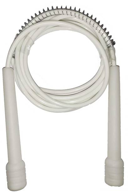 Street Brand White Pencil Skipping-Rope for Men, Women, Weight Loss, Best in Fitness, Exercise Freestyle Skipping Rope