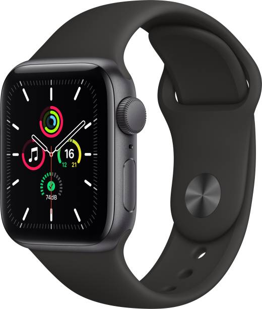 APPLE Watch SE GPS 40 mm Space Grey Aluminium Case with Black Sport Band