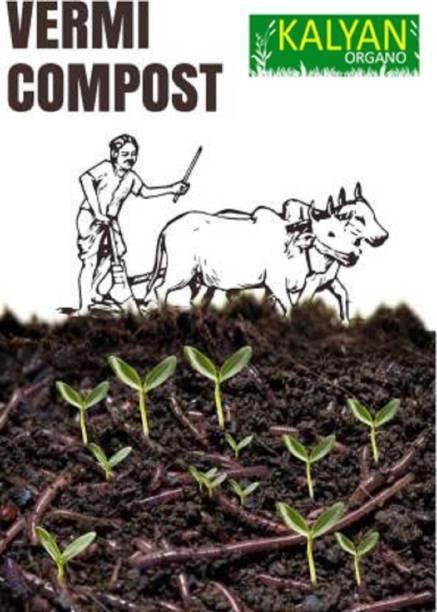 KALYAN ORGANO 1037 gm 100% Natural Enriched Vermicompost - Earthworm Soil Manure Manure, Fertilizer