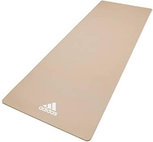 ADIDAS Yoga Mat (2020)-8mm Beige 8 mm Yoga Mat