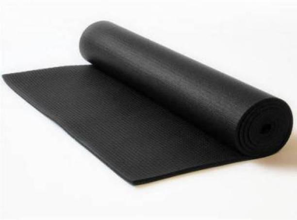 GROVERTEXOFAB BLACK ANTI SKID PREMIUM 4 mm mm Yoga Mat