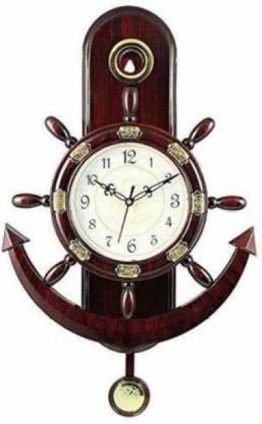 Maya Creation Analog 30 cm X 45 cm Wall Clock