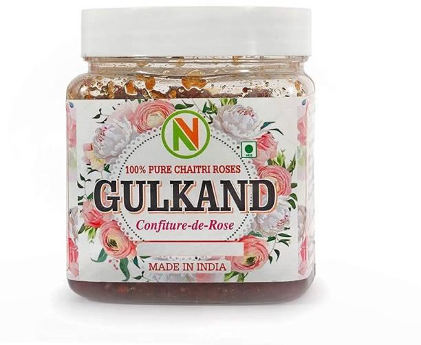 Nature Vit Gulkand, 800 gm (Rose Petals and Mishri) -Jar Pack 800 g