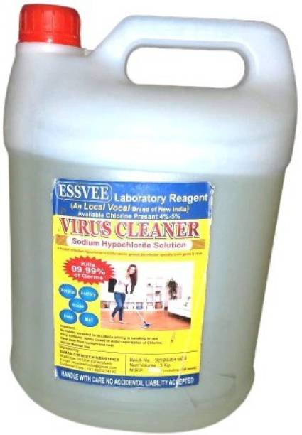 sodium hypochlorite Essvee virus cleaner (sodium hypoclorite solution) floor cleaner kills 99.99% germs