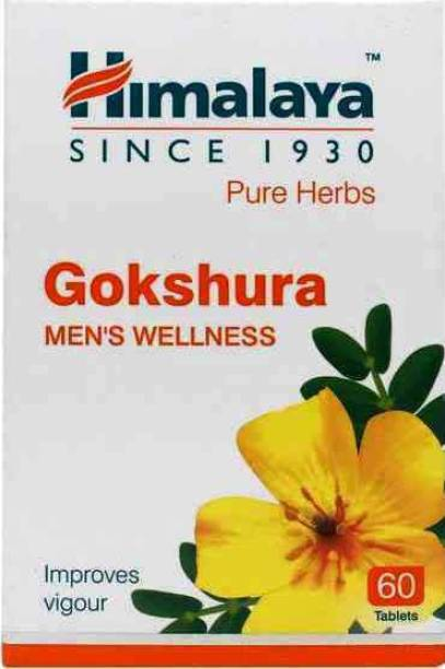 HIMALAYA Gokshura Men's Wellness Improves Vigour (120 Tablets)