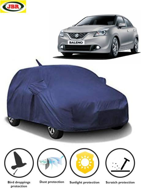 JBR Car Cover For Maruti Suzuki Baleno (With Mirror Pockets)
