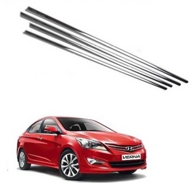 After cars AFTWLG0021 Chrome Hyundai Verna Fluidic Side Garnish