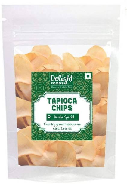 Delight Foods Fresh Kerala Tapioca Chips Chips