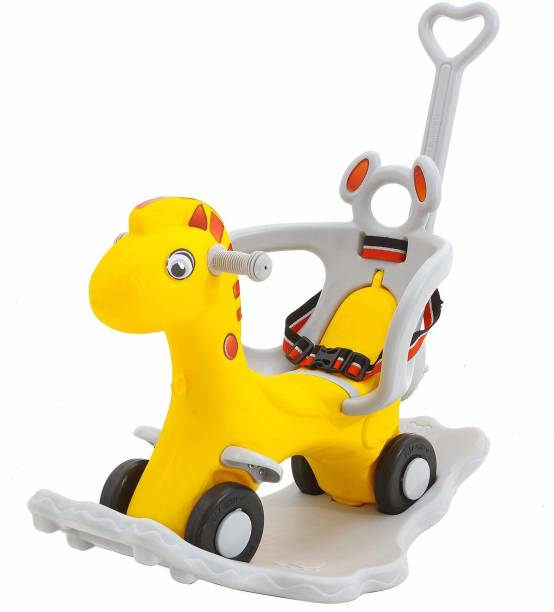 GoodLuck Baybee 2 in 1 Baby Horse Rider-Kids Ride On Push Car Toy Car Rider Babies Toy Toddler Baby Rocker seat Toys 1-3 Years Old Child - Indoors and Outdoors Kids Made in India Suitable for Boys & Girls Rideons & Wagons Non Battery Operated Ride On