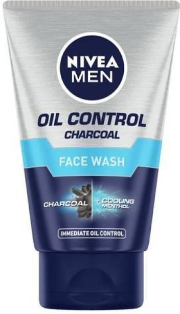NIVEA MEN Oil Control Charcoal ( 100 ML ) Face Wash
