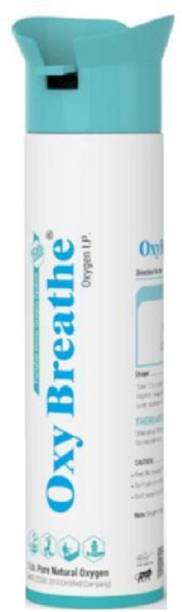 OXY Breathe 99.5% Pure Oxygen in Portable can For Emergency Conditions (8L-150 Puffs)- Helps to save lives Oxygen Concentrator