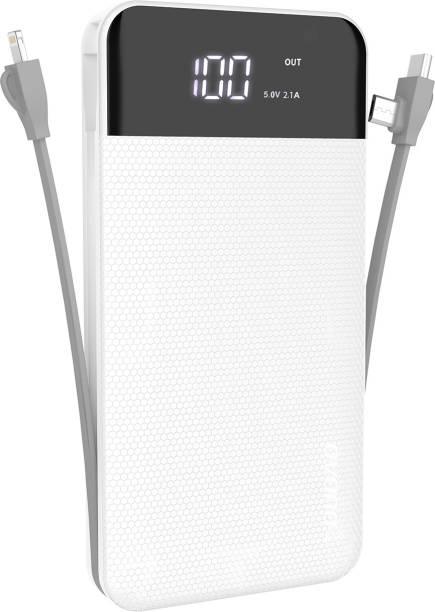 DUDAO 10000 mAh Power Bank (5 W, Fast Charging)
