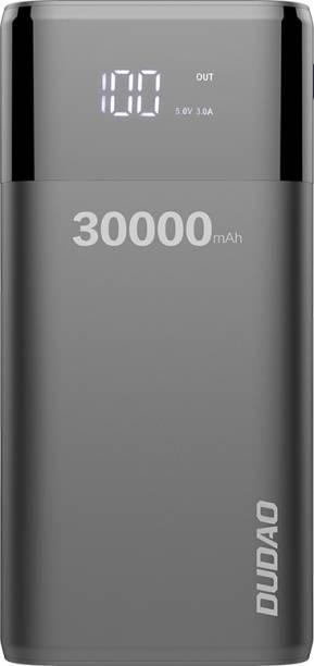 DUDAO 30000 mAh Power Bank (Fast Charging)