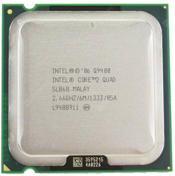 Intel Q9400 CPU 2.66 GHz LGA 775 Socket 4 Cores Desktop Processor