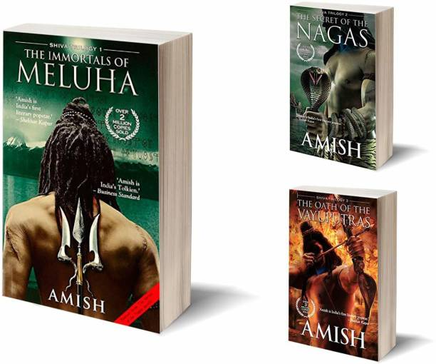 Exclusive Shiva Trilogy Collection By Amish Tripathi Paperback – 1 January 2015