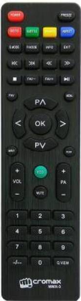 SINKUL tv remote control MMX3 LED/LCD Universal Compatible For  Micromax Remote Controller
