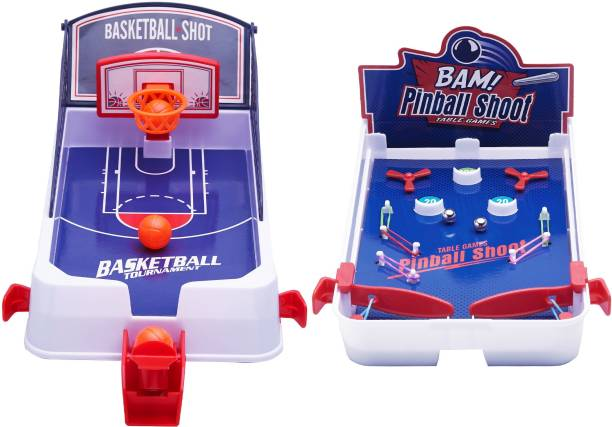 Miss & Chief 2 in 1 Shooting game Basketball