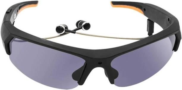 TABARET Deep Sound Lightweight Bluetooth Headset Sunglasses Headphone With Hands-Free Calling Function