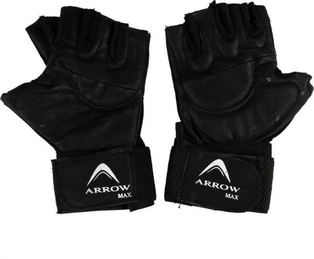 ArrowMax basic leather gym and sports gloves Gym & Fitness Gloves