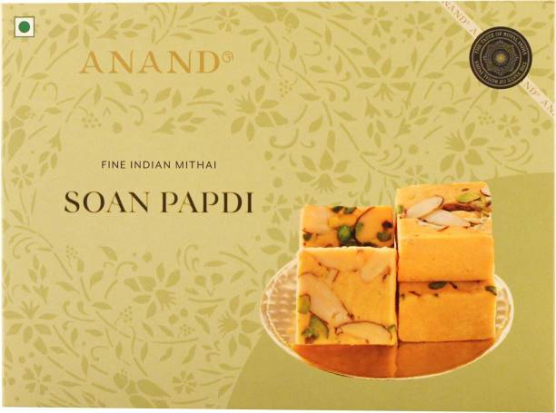 Anand Soan Papdi - Made with Pure Ghee and Dry Fruits Box