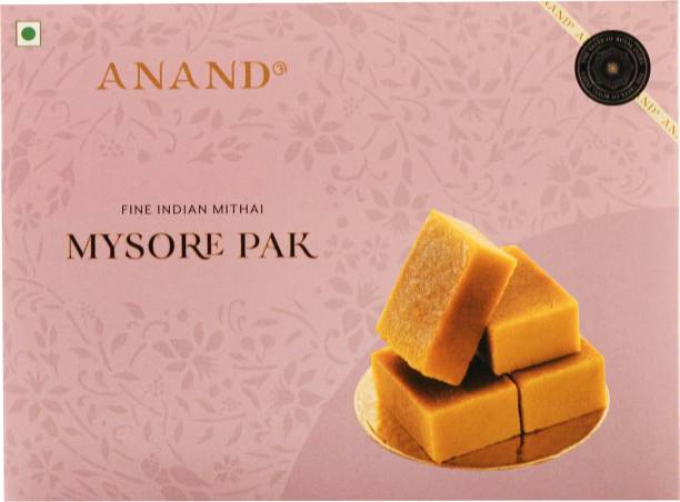 Anand Sweets Mysore Pak - Special Soft Melt in Mouth Pure Ghee Mithai Box