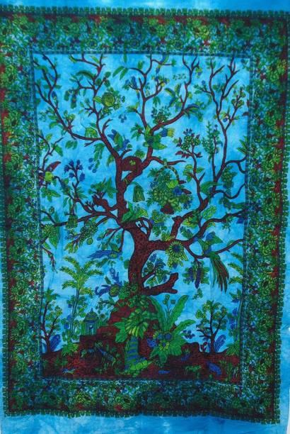 Art World Tapestry Tree of Life Boho Hippie Tapestry