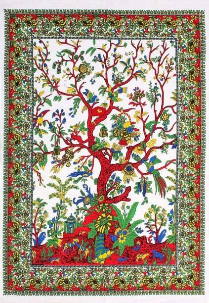 Art World Tree of Life Boho Hippie Tapestry