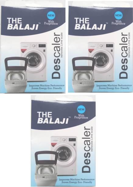 THE BALAJI SCALEGON WASHING MACHINE TUBE CLEANER POWDER 3 PACKET Detergent Powder 300 g
