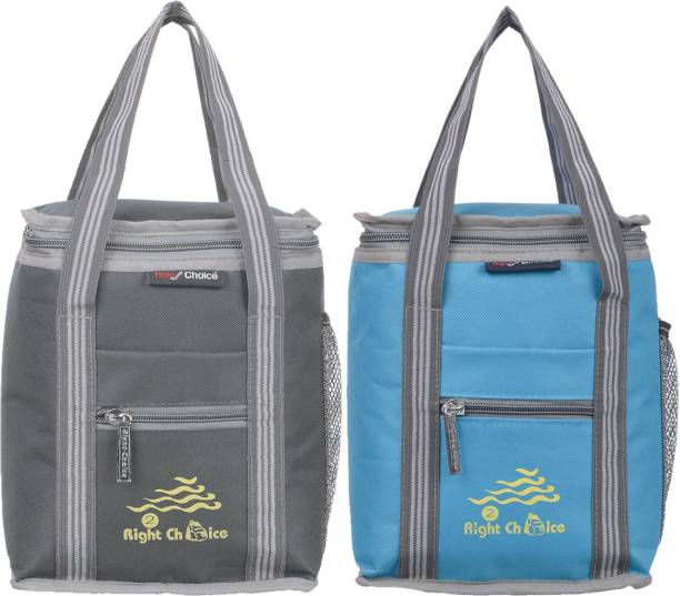 RIGHT CHOICE All Age Combo Lunch Bags Branded Trendy Premium Quality Carry on School Office & Picnic Lunch Bag